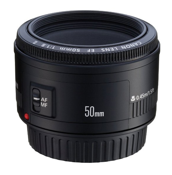 canon 50mm f/1.8 lens hacking photography gear recommendations