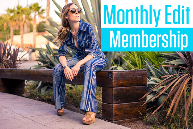 Monthy edit, monthly edit membership, model