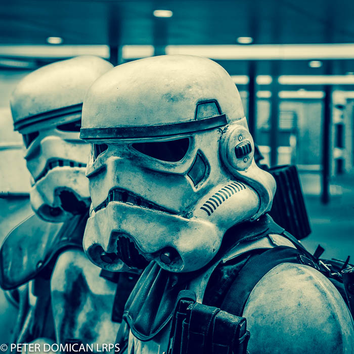 Monthly Edit, star wars, storm troopers, hacking photography,