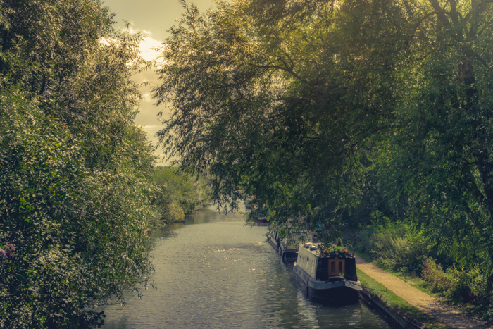River Lee - creating a landscape painting feel to an image